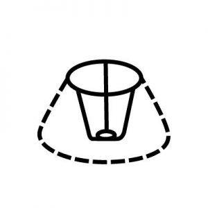Attache d'abat-jour | Style 1 | Lampe | Abat-jour Illimités | Montréal