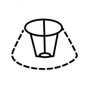 Attache d'abat-jour | Style 3 | Lampe | Abat-jour Illimités | Montréal