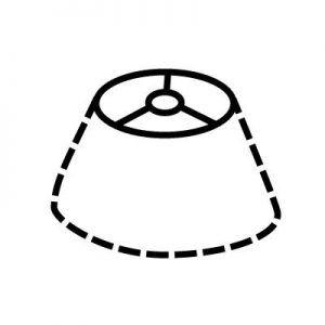 Attache d'abat-jour | Style 4 | Lampe | Abat-jour Illimités | Montréal