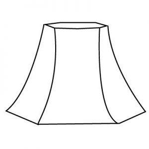 Forme d'abat-jour | Style 10 | Lampe | Abat-jour Illimités | Montréal