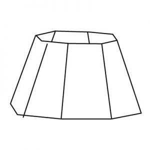 Forme d'abat-jour | Style 13 | Lampe | Abat-jour Illimités | Montréal