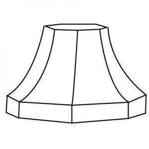 Forme d'abat-jour | Style 8 | Lampe | Abat-jour Illimités | Montréal