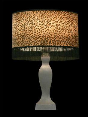 Abat-jour | Imprimé léopard | Franges | Lampe | Abat-jour illimités | Montréal