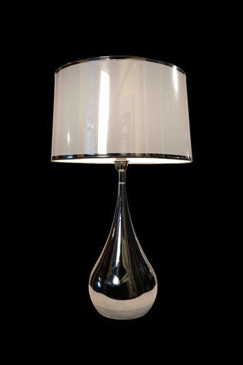 Abat-jour moderne | Fini lustré | Lampe | Abat-jour Illimités | Montréal