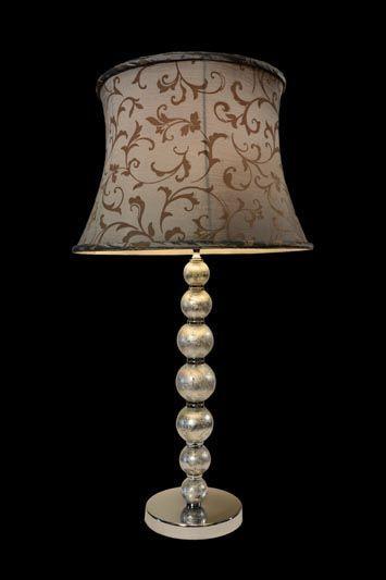 Abat-jour classique avec des motifs baroques | Lampe | Abat-jour Illimités | Montréal