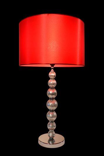 Abat-jour rouge | Lampe | Abat-jour Illimités | Montréal