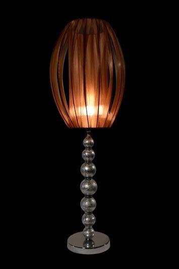 Abat-jour moderne ovale en métal et en tissu orange brûlé | Lampe | Abat-jour illimités | Montréal