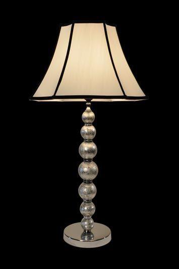 Abat-jour classique | Blanc | Détails noirs | Lampe | Abat-jour illimités | Montréal