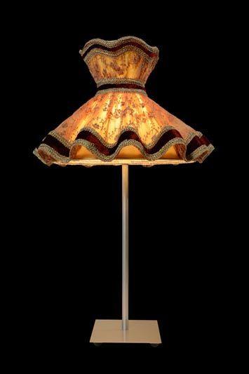 Abat-jour ancien | Lampe de table | Lampe torchère | Abat-jour Illimités | Montréal