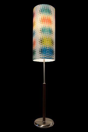 Abat-jour moderne | Graphique | Coloré | Lampe | Abat-jour illimités | Montréal
