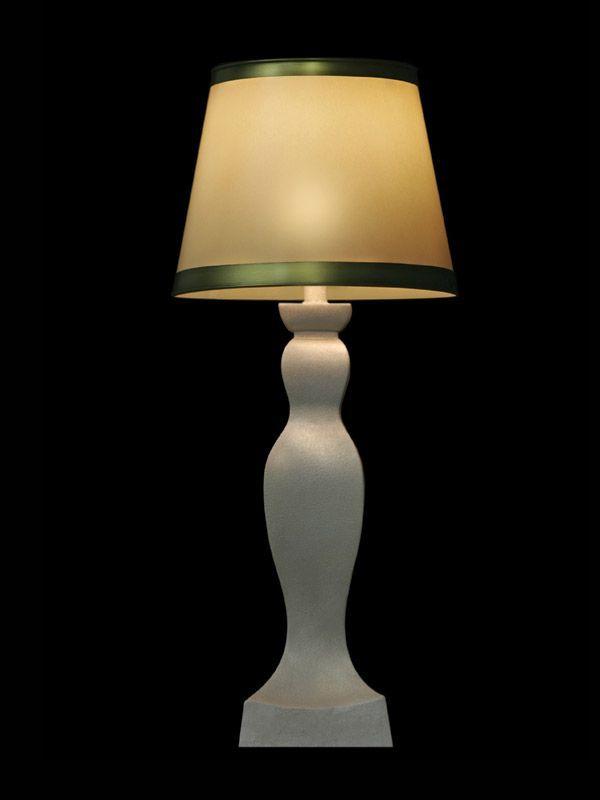 Abat-jour rond à bordures vertes | Lampe | Abat-jour illimités | Montréal