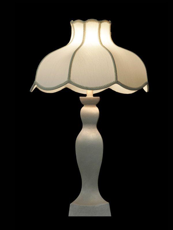 Abat-jour blanc | Forme tulipe | Lampe | Abat-jour illimités | Montréal