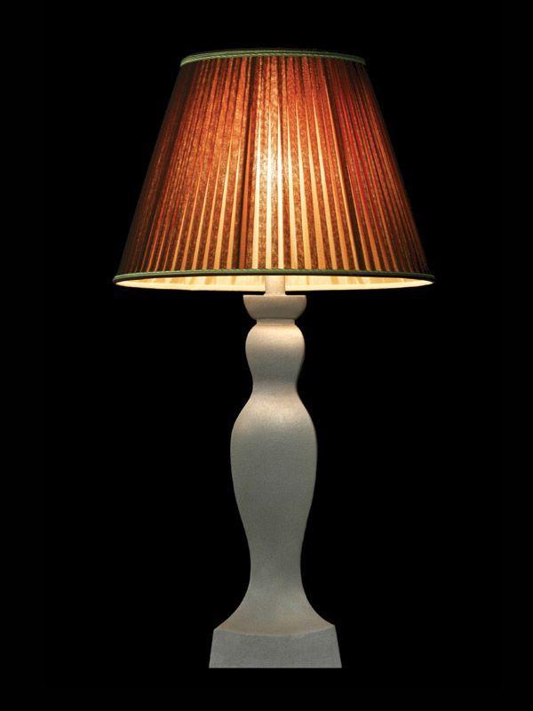 Abat-jour à rayures | Rouille | Lampe | Abat-jour illimités | Montréal