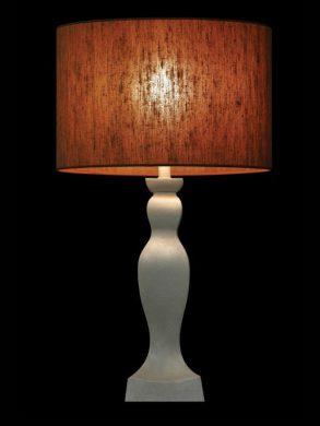 Abat-jour rond | Brun | Organique | Lampe | Abat-jour illimités | Montréal