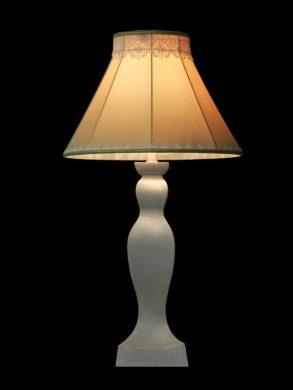 Abat-jour beige | Détails en dentelle | Lampe | Abat-jour illimités | Montréal