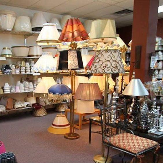 Intérieur de la boutique | Lampe | Abat-jour Illimités | Montréal