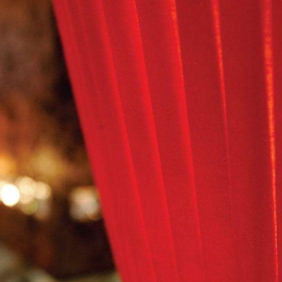 Tissu rouge | Lampe | Abat-jour Illimités | Montréal