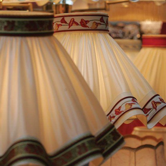 Abat-jours coniques en tissu blanc | Lampe | Abat-jour Illimités | Montréal